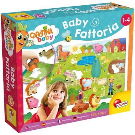 PUZZLE CAROTINA BABY FATTORIA LISCIANI 58464