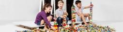 Konstruktionsspielzeug und Puzzles