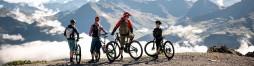 Fahrrad und Dreirad